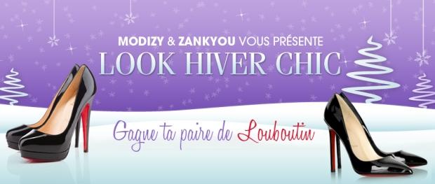 Gagnez une paire de Louboutin grâce à Modizy et Zankyou