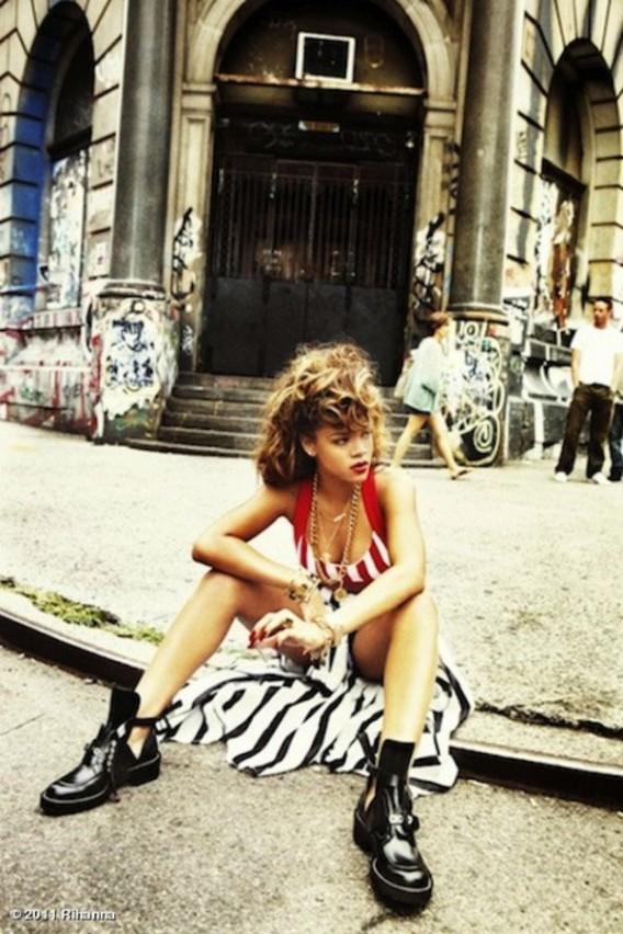 Rihanna les porte dans son clip Talk That Talk