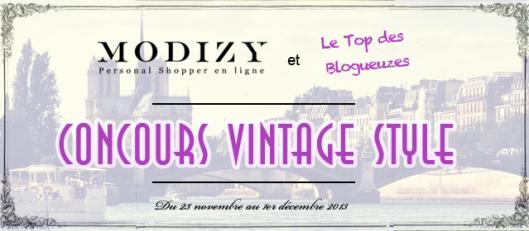 Concours Vintage Style avec le top des Blogueuzes
