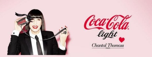 Chantal Thomass, nouvelle directrice de Coca Cola Light