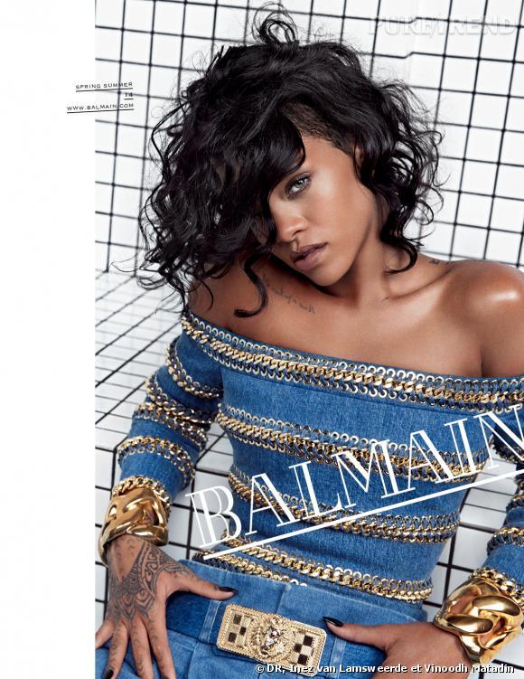 Rihanna, nouvelle égérie Balmain