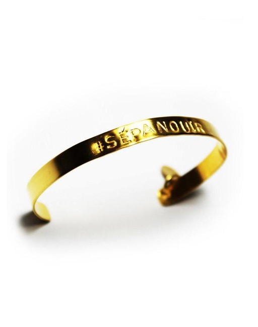 Bracelet hashtag #SEPANOUIR - Kim & Zozi