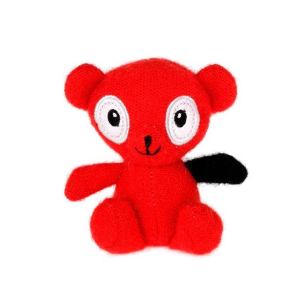 Le petit ourson rouge ! trop mignon !