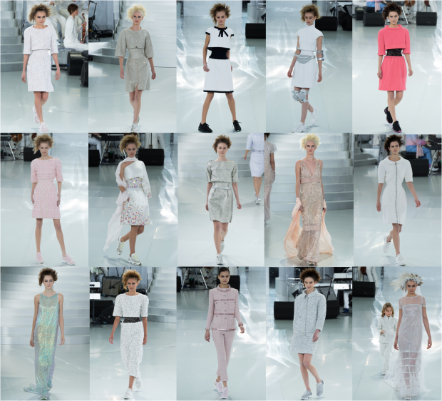 Défilé Chanel, printemps-été 2014  FASHION WEEK # 1 : HAUTE COUTURE À PARIS