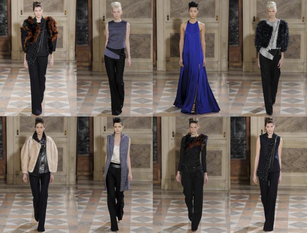 Défilé Bouchra Jarrari, Haute Couture Printemps-été 2014