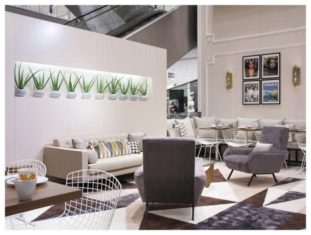 Vogue Café au Printemps Hausmann