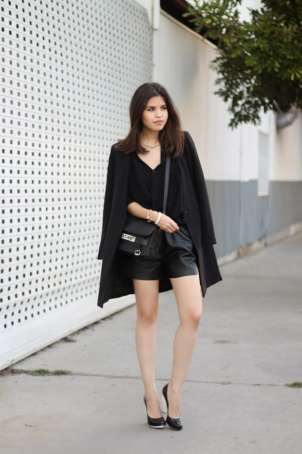 Le look de la semaine : Fake Leather