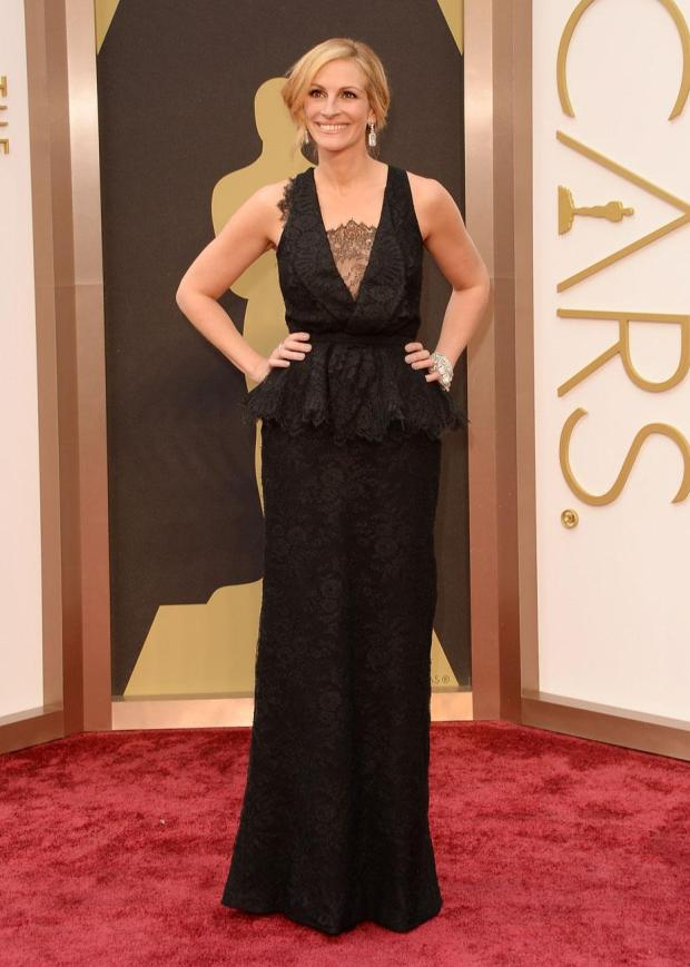 Julia Roberts, en Givenchy