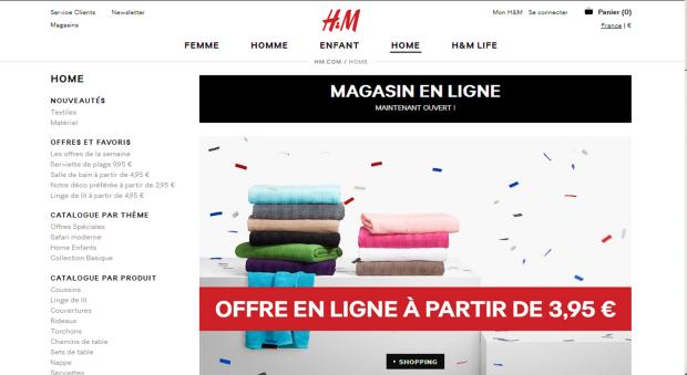 On a testé pour vous l'eshop H&M