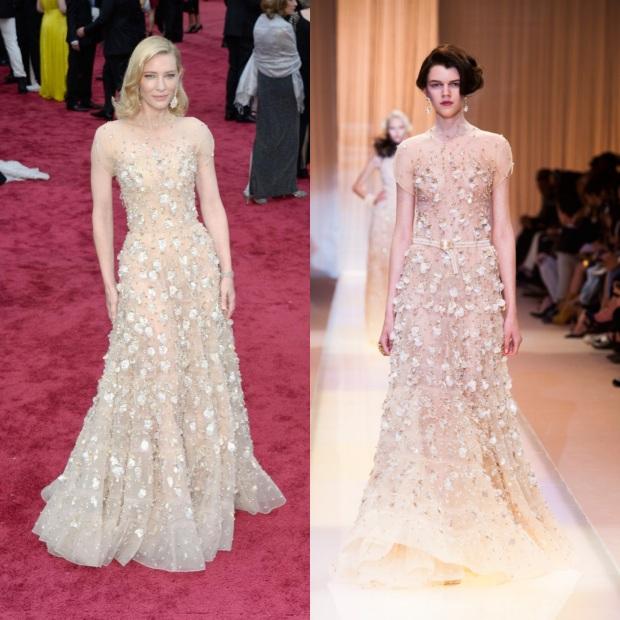 Cate Blanchett, en Armani Privé