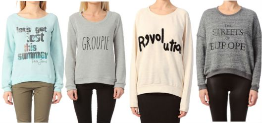 Les sweats à shopper sur Modizy