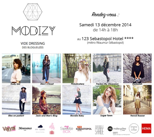 Flyer event Modizy