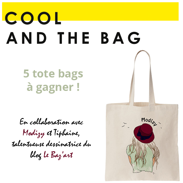 COOL AND THE BAG X modizy x bazart